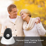 Persönlicher GPS-Verfolger mit Ankern-Station-langem Batteriedauer GPS-Feststeller für ältere Kinder imprägniern Mini-GPS-Verfolger
