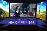 La haute précision P5 l'écran de location polychrome d'intérieur d'Afficheur LED de moulage mécanique sous pression