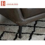 Poltrona di cuoio moderna del sofà del Brown per il salone