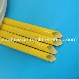Fundas revestidas de la fibra de vidrio del caucho de silicón del certificado de la UL para el harness del alambre