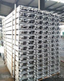 De Plank/de Raad van het Triplex van het Aluminium van de steiger voor Steiger