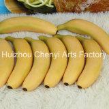 현실적 플라스틱 인공적인 바나나 과일