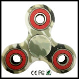 Fidget Hand Spinner Toy Camouflage Carton Package