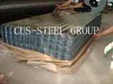 Revêtements de toit commerciaux / panneaux métalliques ondulés de 1/4 pouce