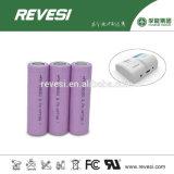 Batterie des Lithium-18650 für elektrische Zigarette, Taschenlampe, elektrische Fackel
