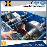 Stahlwasser-Rinne, die Maschine bildet
