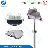 luzes de rua ao ar livre solares do diodo emissor de luz 15W-80W com painel solar