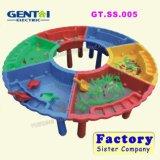 Конструкция пластичное Sandpit игрушек игры малышей животная, ящик с песком пластмассы малышей