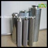 Roestvrij staal 316 de Patroon van de Filter van het Netwerk van de Draad, Water/Gas/de Zeef van de Olie