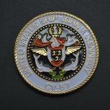 Moneda de encargo del desafío de las naves de los E.E.U.U. del esmalte del diseño libre de las ilustraciones