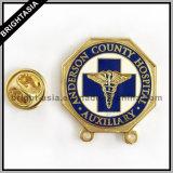 O Pin de metal para a decoração para o costume por atacado faz o logotipo (BYH-101176)