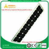 Lista de precios solar de la luz de calle de la fabricación 80W LED de China para la lámpara del jardín
