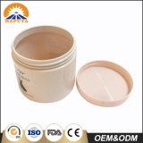 Frasco de creme cosmético personalizado de venda quente para o cuidado de pele