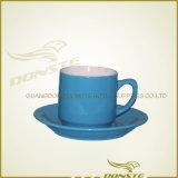 Дешевые навальные керамические чашки чая, таможня фарфора оптовой продажи белая напечатали