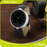 セリウムおよびRoHSの歩数計のSiriの声制御同期信号メッセージのBluetoothのアンドロイドの腕時計
