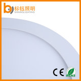 Warm / Pure / Cool White Aluminium Round Surface Mount 6W plafonnier panneau LED