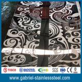 feuille décorative d'acier inoxydable d'épaisseur de 3mm