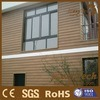 WPC Revestimento de parede de plástico composto de madeira exterior