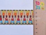 Do algodão colorido do jacquard da forma Webbing nacional do traje