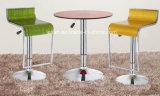 棒家具(LL-BC008)のためのアクリルの旋回装置棒椅子のバースツール