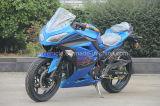 bicicleta de competência azul Moto quente de 150cc 250cc