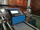 máquina de estaca pequena portátil do plasma do CNC da alta qualidade para a placa de aço