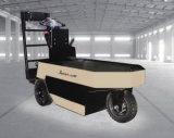 Хорошее качество всадник Satnding 2.5 тонн управляя электрическим трактором кудели