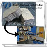 Scharfes Ausschnitt-Stein-Rand-Diamant-Ausschnitt-Marmor-Segment für Granit