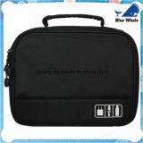 Bw251 Peças Eletrônicas Casual Cosmetic Bag Black Tote Storage Bag