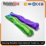 bride ronde de textile sans fin de polyester de la capacité de charge 2t