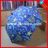 Foldable 주문을 받아서 만들어진 두 배 닫집 골프 우산