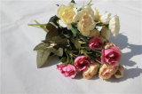 Цветки Silk Peony искусственние для венчания/домашнего украшения