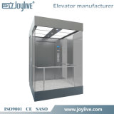 Elevador de cristal al aire libre de la cabina
