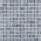 Blumen-Glasmosaik für die Verzierung der Wand