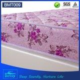 Fabricante resistente del colchón del OEM los 21cm altos con la tela resistente de la impresión del resorte y del poliester de Bonnell