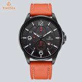 贅沢なブランドの日本水晶人の腕時計の革腕時計72867