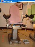 전기 유압 납품 부인과 의자/외과 기구는 작업 중/여성 검사 테이블을 이용했다