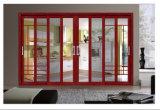 De Schuifdeur van het Glas van het Frame van het aluminium