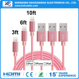 이동 전화의 고속 나일론 USB 데이터 또는 비용을 부과 케이블