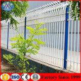 Frontière de sécurité enduite d'acier de zinc de rambarde en métal de poudre