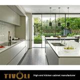 Мебель кухни конструкции дома квартиры свободно меламина ручки самомоднейшая (AO024)
