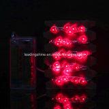 50 LEDs Firefly Micro String Lights Forme cardiaque pour la partie centrale de mariage Party Décoration de Noël