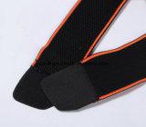 Rodilleras del balompié del baloncesto de la rodillera de la seguridad de los deportes de la paréntesis de rodilla que entrenan a la protección elástico de la rodilla del becerro del soporte de la rodilla de la cinta