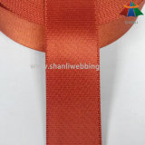 1.5 Zoll-orangeroter Twill-seitliches sperrendes Nylongewebtes material