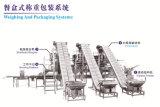 Automatisches Tellersegment-/Karton-/Kasten-/Glas-/Flaschen-füllendes Verpackungs-System mit Multihead Wäger
