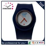 Reloj de manera caliente de Squartz de la palmada del deporte del silicón del regalo de la promoción de venta (DC-700)