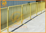 Panneau galvanisé Chaud-Plongé provisoire de frontière de sécurité en métal de contrôle de trafic de qualité