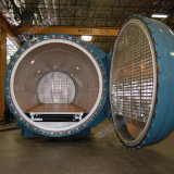 autoclave composta aprovada do CE de 3000X6000mm para a cura da fibra do carbono