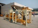 Máquina inteiramente automática do tijolo da máquina/pavimento do bloco da pedra do freio do media Qt4-25