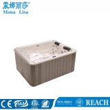 Baquet chaud d'utilisation de tourbillon de STATION THERMALE acrylique pour trois personnes de massage (M-3336)